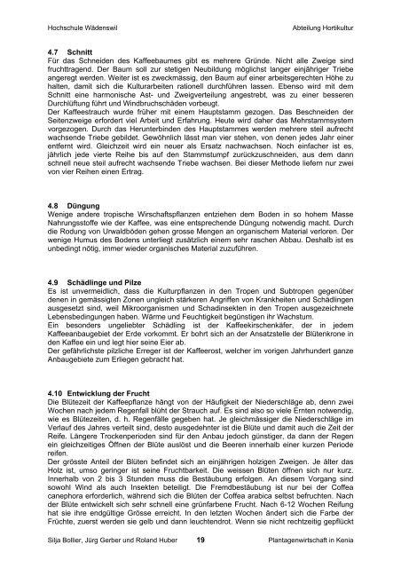 Fallstudie Plantagenwirtschaft in Kenia - Institut für Umwelt und ...