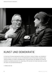 KUNST UND DEMOKRATIE - Omnibus für direkte Demokratie