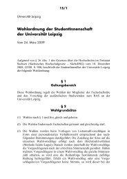 Wahlordnung - StuRa Universität Leipzig