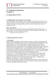 13. Sonntag im Jahreskreis Lesejahr A - Katholisches Bibelwerk