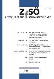 ZEITSCHRIFT FÜR SOZIALÖKONOMIE 150.