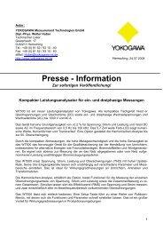 Presse - Information