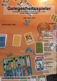 Download der Ausgabe März 2006 (Vol4) - Gelegenheitsspieler