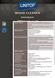 WOOD CLEANER - LINITOP