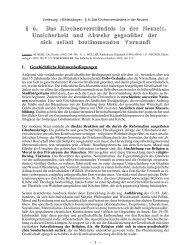 Das Kirchenverständnis in der Neuzeit - Theologie-Skripten