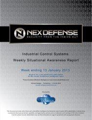 ICS Cyber Situational Awareness Repor - Business of Security