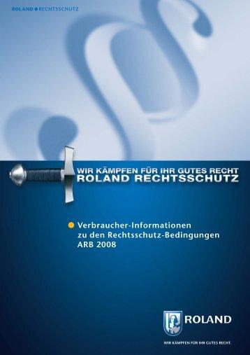 Rechtsschutz-Bedingungen ARB 2008 - Horbach Reisemobil ...