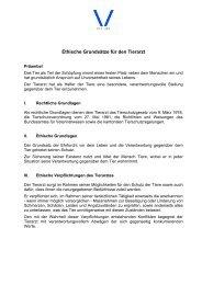 Ethische Grundsätze für den Tierarzt - Akademie für Tierschutz