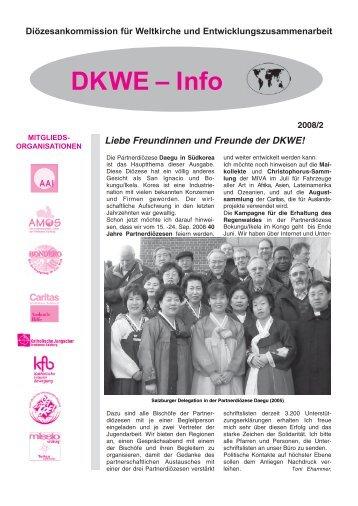 Partnerdiözese Daegu - Erzdiözese Salzburg