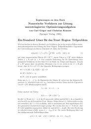 Trust-Region-Teilproblem-Löser