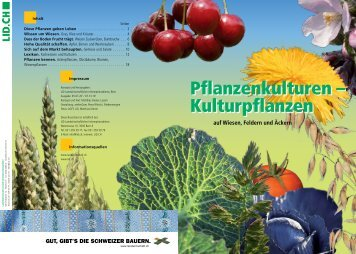 Die Broschüre als PDF herunterladen - Schweizer Landwirtschaft