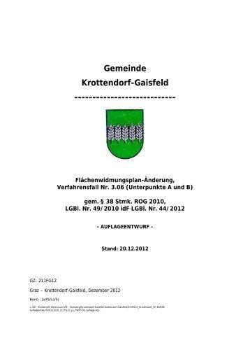 mehr - Gemeinde Krottendorf-Gaisfeld