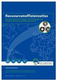 Eine internationale Perspektive auf ... - Ressourceneffizienzatlas