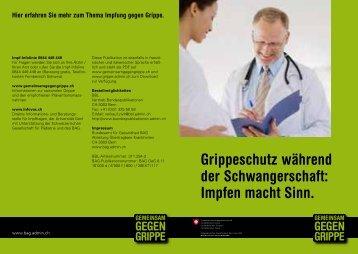 Grippeschutz während der Schwangerschaft - Bundesamt für ...