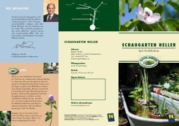 Schaugarten Heller, Ulrichtskirchen - Natur im Garten