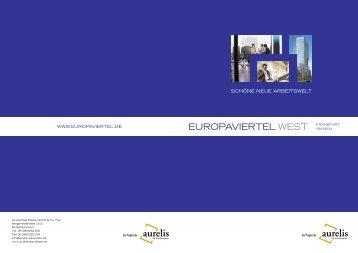 EUROPAVIERTEL WEST FRANkFURT - Europaviertel West, aurelis