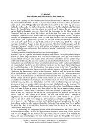19. Kapitel Die Schächte und Hütten des 16. Jahrhunderts Wie an ...