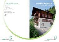 Ferienhaus Bergfrieden - Lungenliga