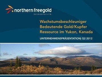 Entwicklung von Ressourcen und Reserven - Northern Freegold ...