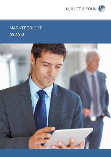 Marktbericht März 2013