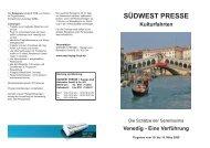 Venedig - SÜDWEST PRESSE + Hapag-Lloyd Reisebüro