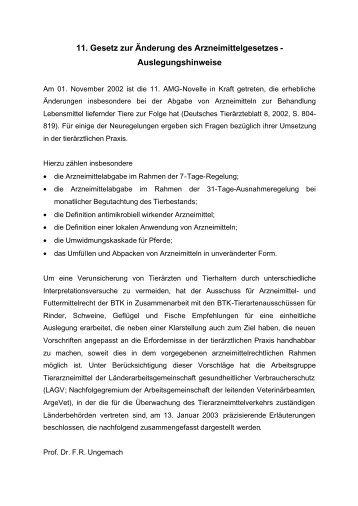 Arzneimittelgesetz (AMG) - Gesetze im Internet