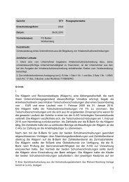 Klägerin - Richard Boorberg Verlag