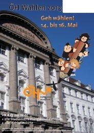 UNIpress Mai Sondernummer Wahlen 2013 - Österreichische ...