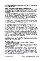 1 Erfahrungsbericht mit Dybuster Premium 1.1 - und Dybuster ...