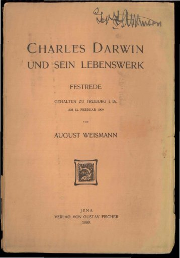 W - The Complete Work of Charles Darwin Online