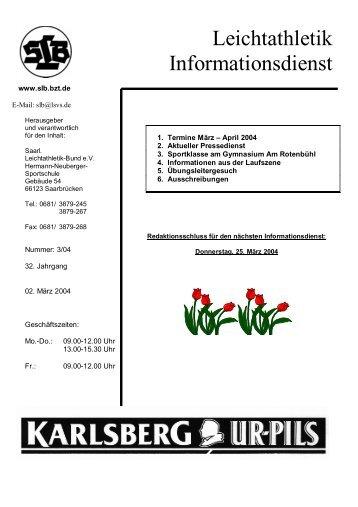Infodienst - Saarland - bzt.de