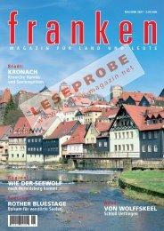 Artikel im Heftlayout als PDF (2,7 MB) - Franken Magazin