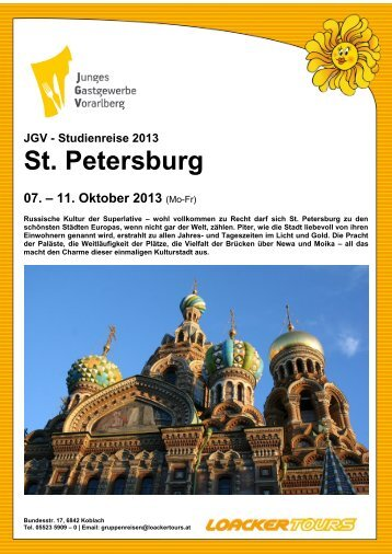 St. Petersburg - JGV