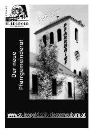 herunterladen - Pfarre St. Leopold Klosterneuburg