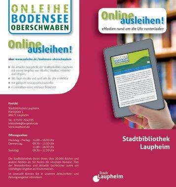 Online ausleihen! - Laupheim