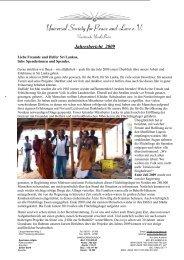 Bericht 2009 - Ursula Beier