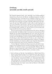 Einleitung Grenzfälle von Bild, Schrift und Zahl - Moritz Wedell