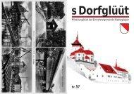 Mitteilungsblatt der Einwohnergemeinde Niedergösgen Nr. 57