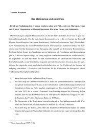 Der Stalinismus und sein Ende - DIE LINKE Heidenheim