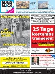 VERANSTALTUNGEN - Rundblick