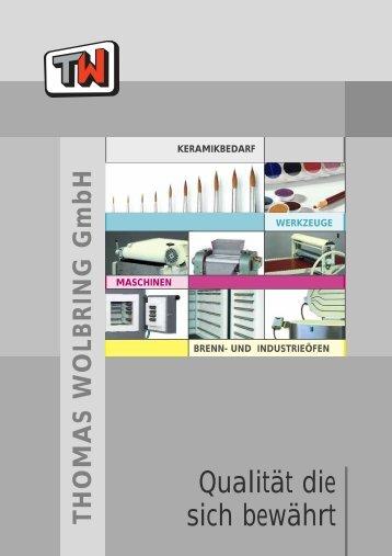 Maschinen - Thomas Wolbring GmbH