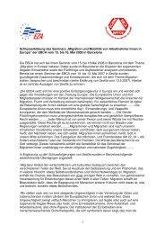 Schlusserklärung - Plattform für Menschenrechte Salzburg