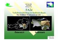 Verkehrserschließung im ländlichen Raum ... - GIS-Steiermark