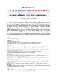 Mein Erlebnisbericht zu : am 06. Mai 2006 in Dinkelsbühl Da sich ...