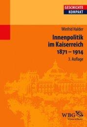 Leseprobe zum Titel: Innenpolitik im Kaiserreich 1871 ... - Die Onleihe