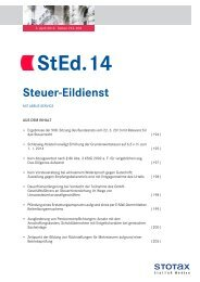StEd.14 - Stotax Portal