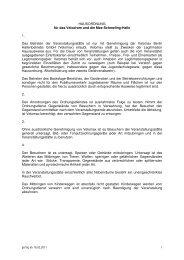 Hausordnung Velomax Berlin [PDF] - Max-Schmeling-Halle