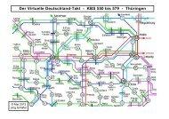 Der Virtuelle Deutschland-Takt - KBS 550 bis 579 ... - Franken in Takt