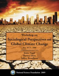 Sociological Perspectives on Global Climate ...  - University of Kansas