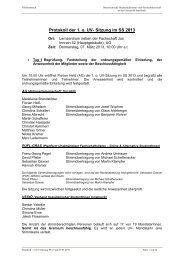 Protokoll der 1. o. UV- Sitzung im SS 2013 - Österreichische ...